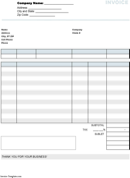 Repair Invoice Templates