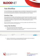 Workflow Templates in Word