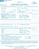 Blue Cross Blue Shield Association Medical Claim Form 1