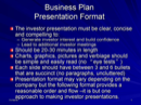 5 Business Presentation Templates