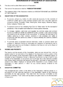 Bylaws Template 2 Page 2