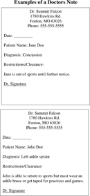 The Doctors Note Template in PDF, Word, Excel format are free for ...