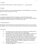 Employment Agreement Sample Page 2