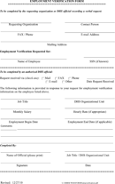 Download Employment Verification Form Templates for Free - TidyForm
