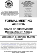 Formal Meeting Agenda Templates