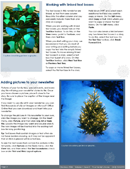 Family Christmas Newsletter Page 2