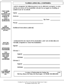 The Advance Directive Form In PDF Word Excel Format Are Free For You To Dow