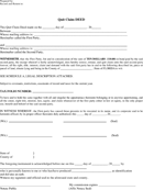 Download Florida Quitclaim Deed Form for Free - TidyForm