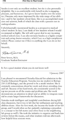 High School Letter of Recommendation Template Page 2