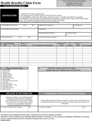 Humana Medical Claim Form