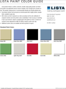 Color Chart Template