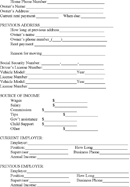 Ohio Rental Application Page 2