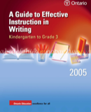 Sample Writing Instruction Templates