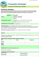 The Schedule Template in PDF, Word, Excel format are free for you ...