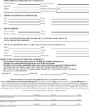 Free Rental Application Form Page 2
