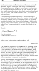 Sample Letter of Recommendation For Student 1 Page 2