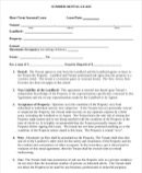 Short-Term Rental Agreement Templates