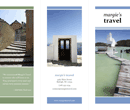 Tri-Fold Travel Brochure Template 1