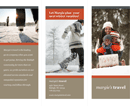 Tri-Fold Travel Brochure Template 2