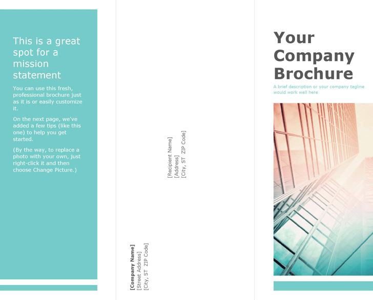 The Blank Brochure Template 1 can help you make a professional and – Investigator Brochure Template