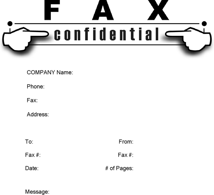 The Confidential Fax Cover Sheet 1 can help you make a – Fax Cover Page