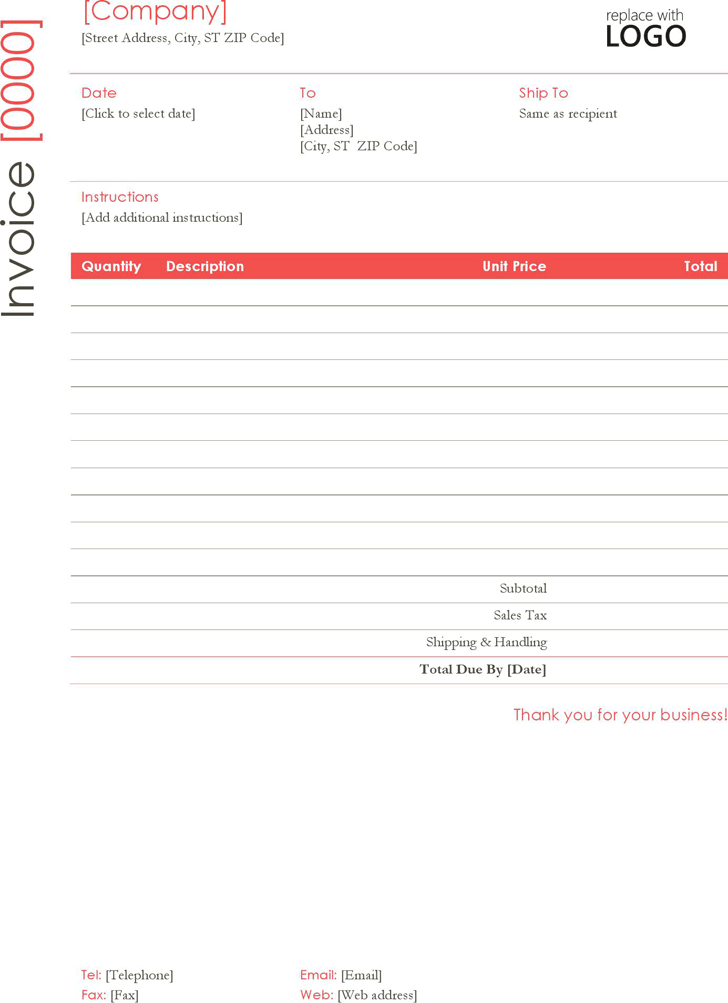 The Construction Invoice Template can help you make a professional – Construction Invoice Template