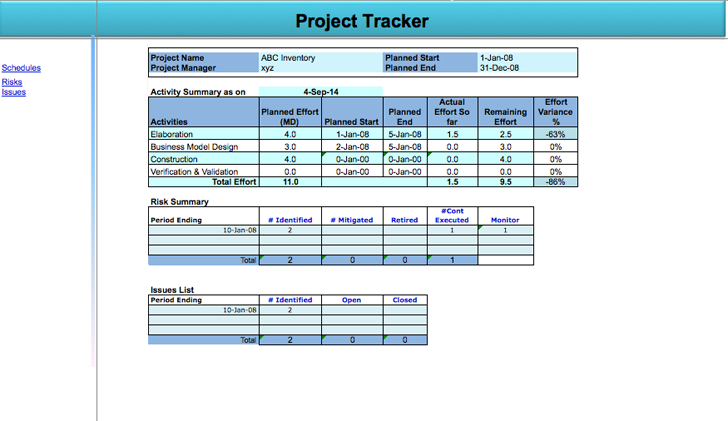 Daily Timesheet Template For Project Management