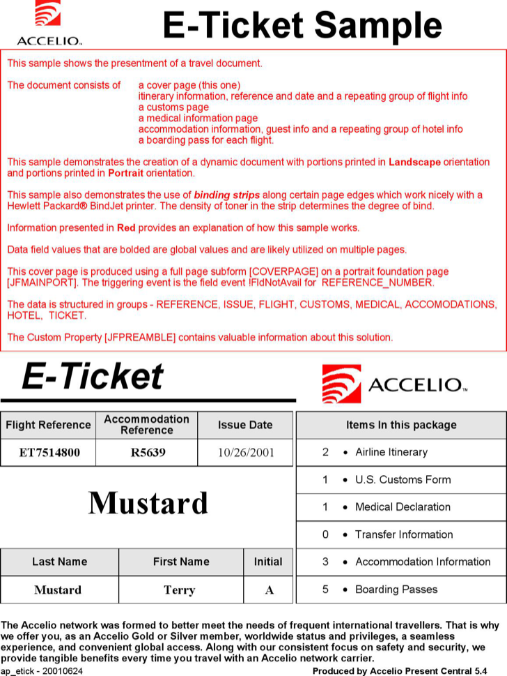 The E Ticket Itinerary Template can help you make a professional – E Ticket Template