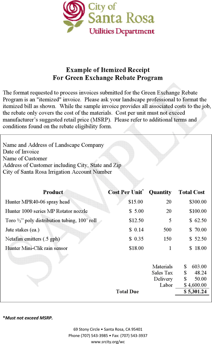 Example Of A Receipt free templates for funeral programs receipt – Receipt Examples