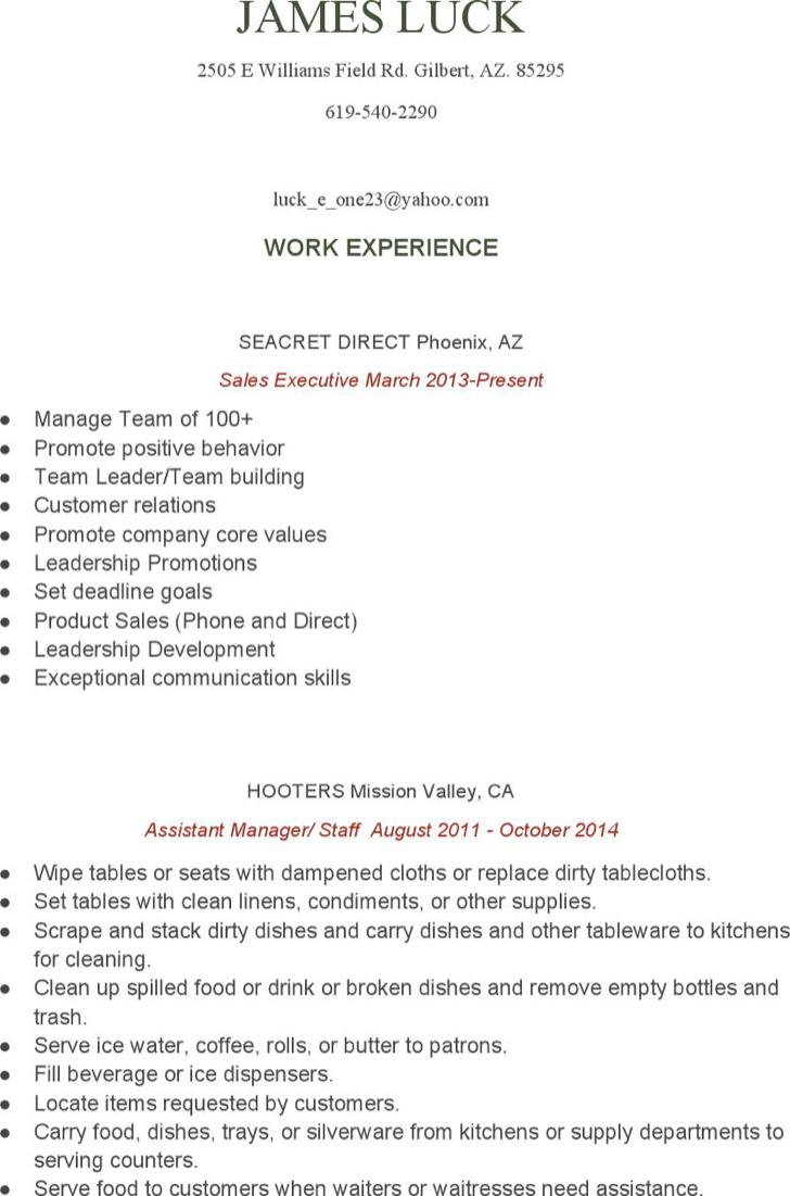 the food service assistant manager resume can help you