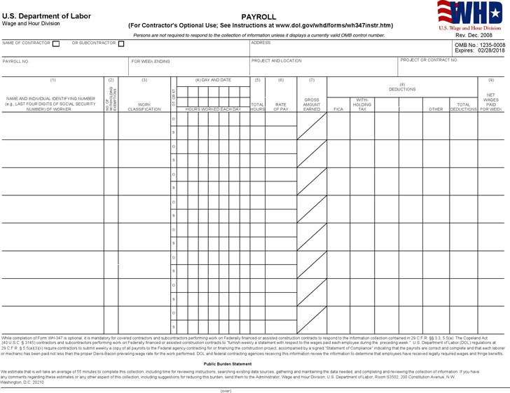 Download Illinois Certified Payroll Form 2 for Free - TidyForm