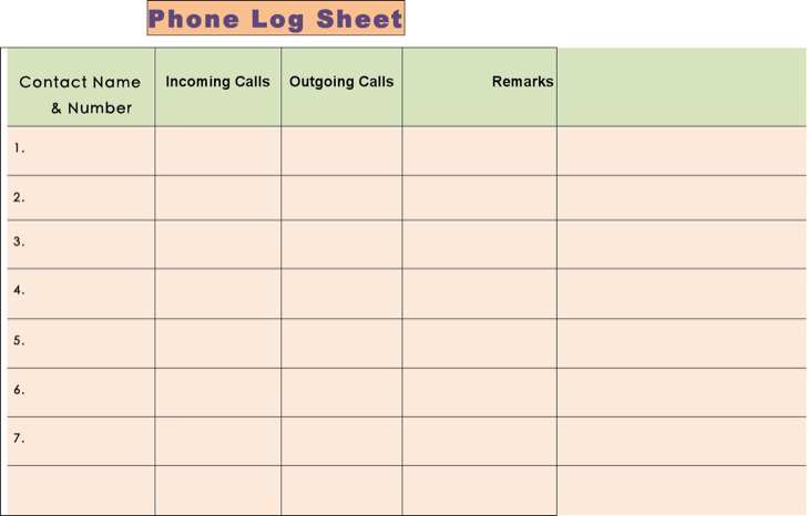 The Mac Phone Call Log Template Free can help you make a – Phone Sheet Template