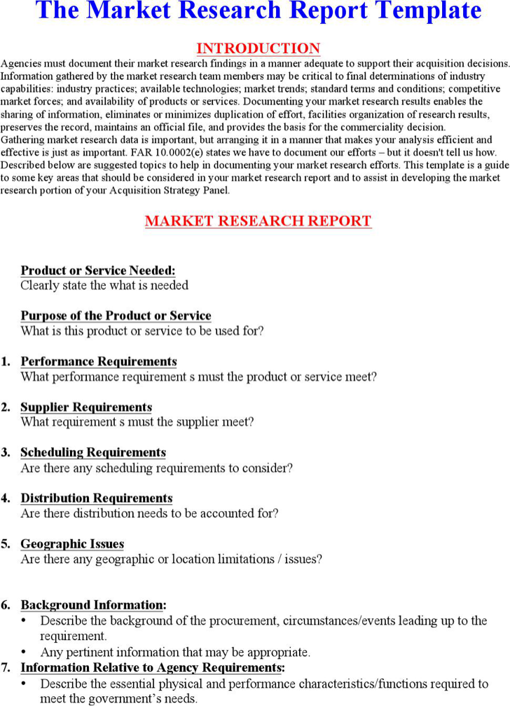 report on the market research about Marketing research is often confused with market-research create your report: the final step of marketing research is to draft a report on your findings.