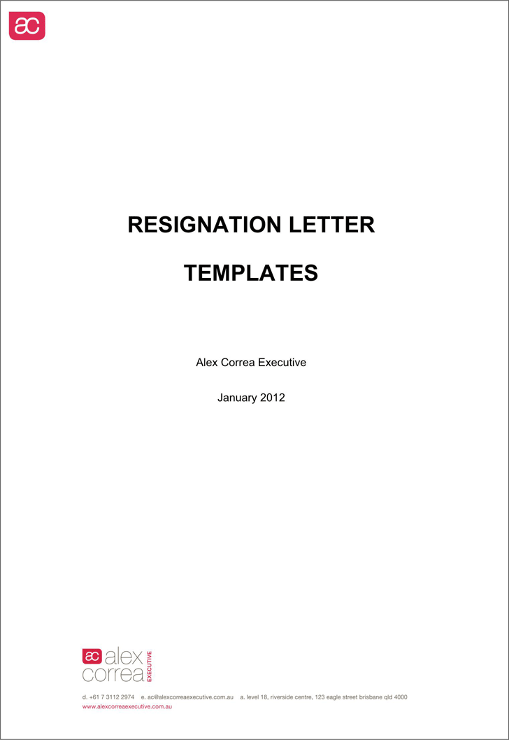 The Free Letter of Resignation Template Word can help you make a – Free Letter of Resignation Template Word