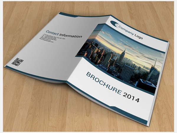 Sample Bi Fold Brochure Template