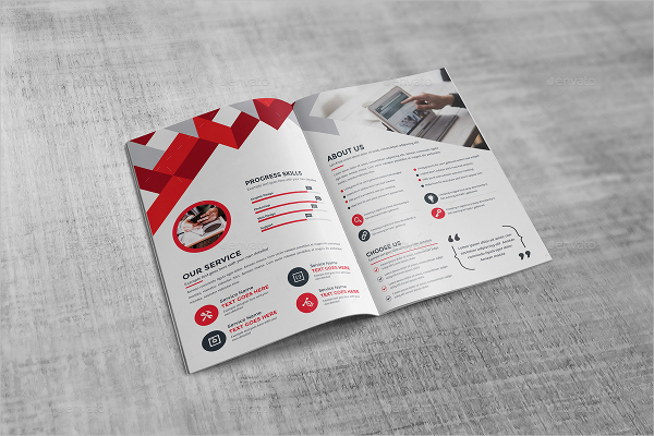 Awesome Sample Bi Fold Brochure Pictures - Best Resume Examples