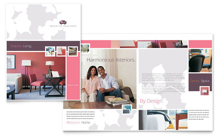The Sample Interior Designer Tri Fold Brochure Template Can Help