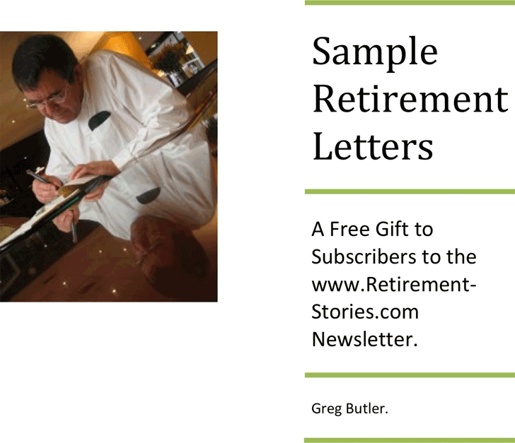 The Sample Retirement Letters can help you make a professional and – Retirement Letter Sample