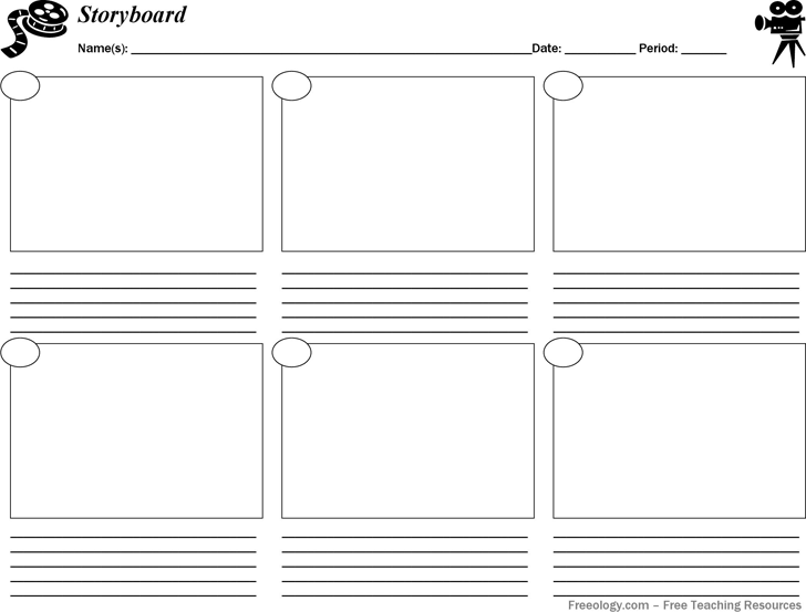 download storyboard template pdf for free tidyform