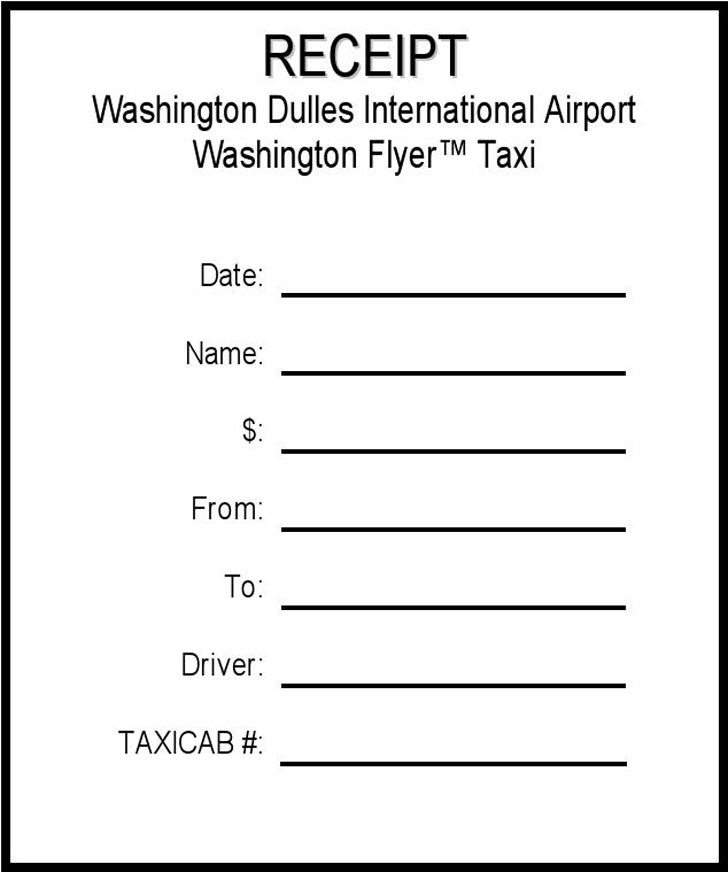 Download Taxi Cab Receipt For Free Tidyform
