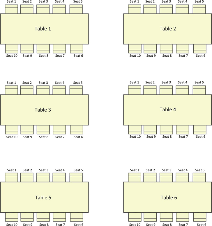 Seating Chart Templates. 40+ Great Seating Chart Templates