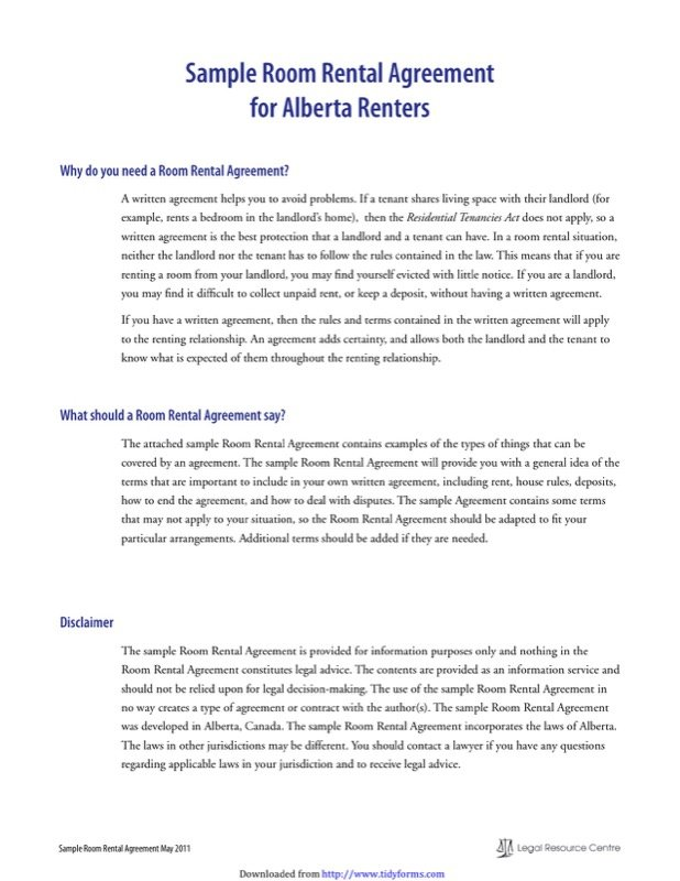 Alberta Rent And Lease Template  Free Templates In Doc Ppt Pdf  Xls