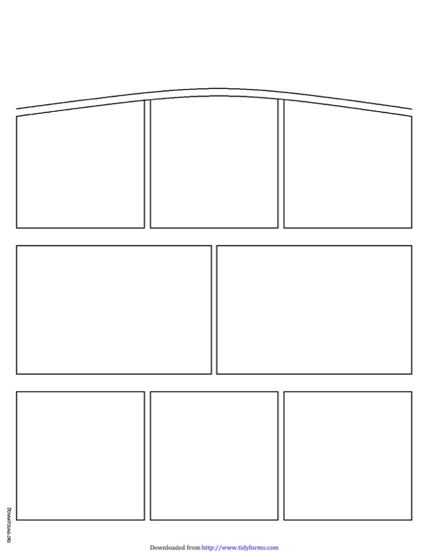 Comic Strip Template  Free Templates In Doc Ppt Pdf  Xls