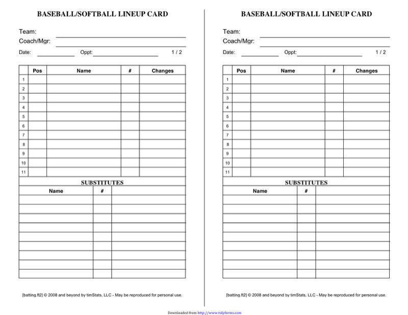 Baseball Roster Template  Free Templates In Doc Ppt Pdf  Xls
