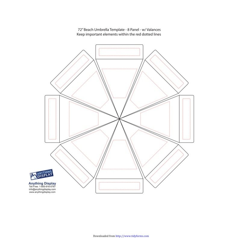 Umbrella Template  Free Templates In Doc Ppt Pdf  Xls
