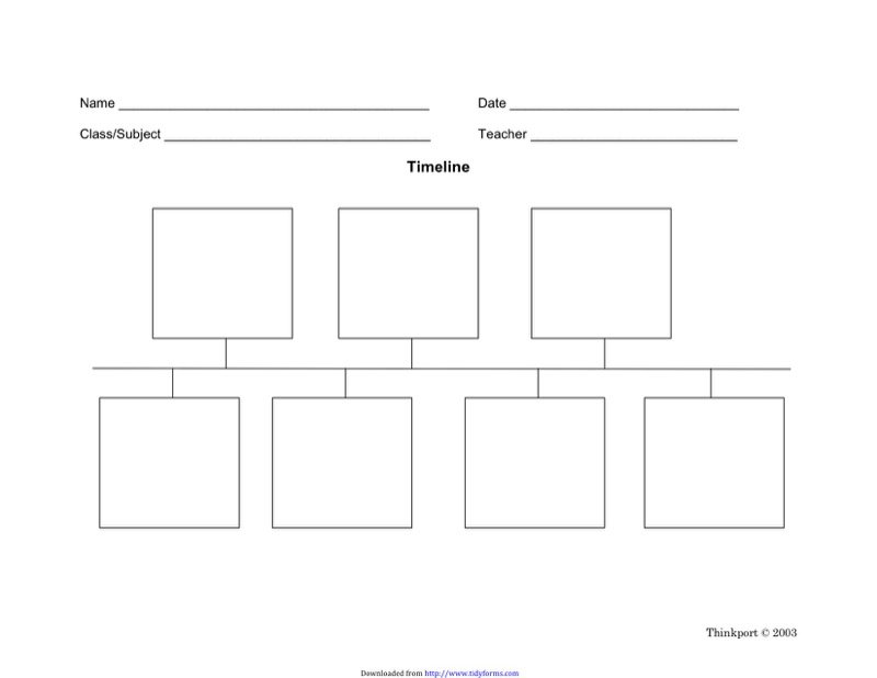 Blank Timeline Template  Free Templates In Doc Ppt Pdf  Xls