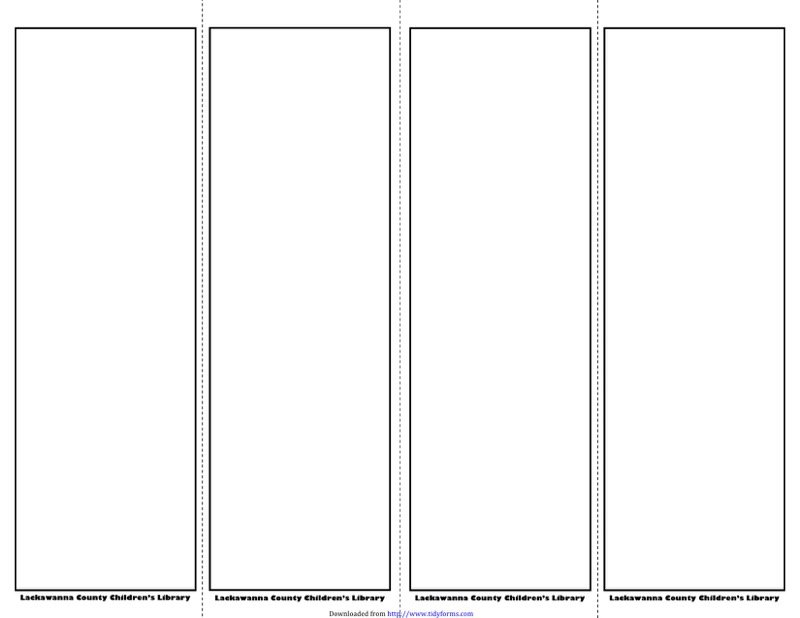 Bookmark Template  Free Templates In Doc Ppt Pdf  Xls
