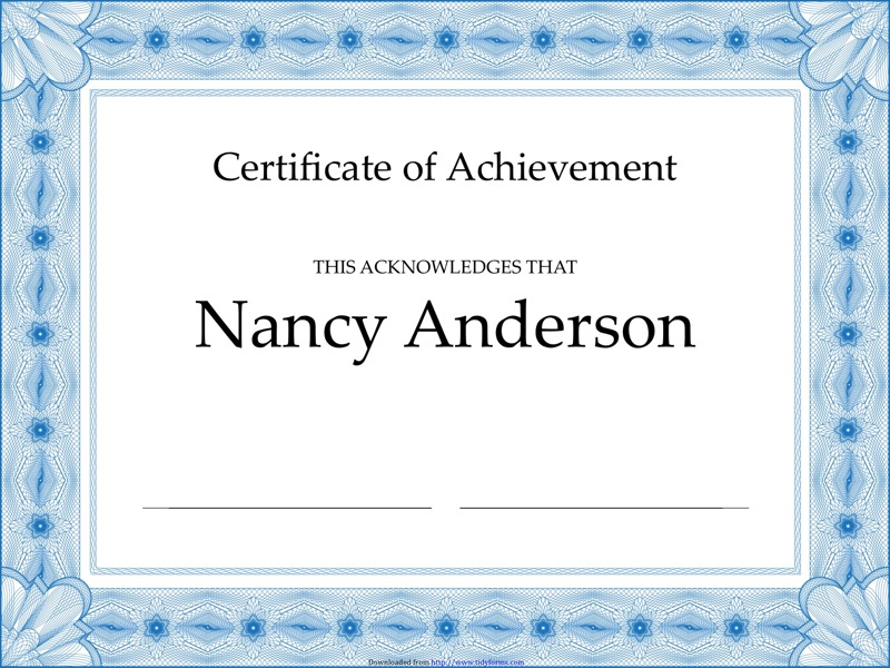 Wonderful certificates of achievement templates free photos certificate of achievement templates free templates in doc ppt yadclub Images