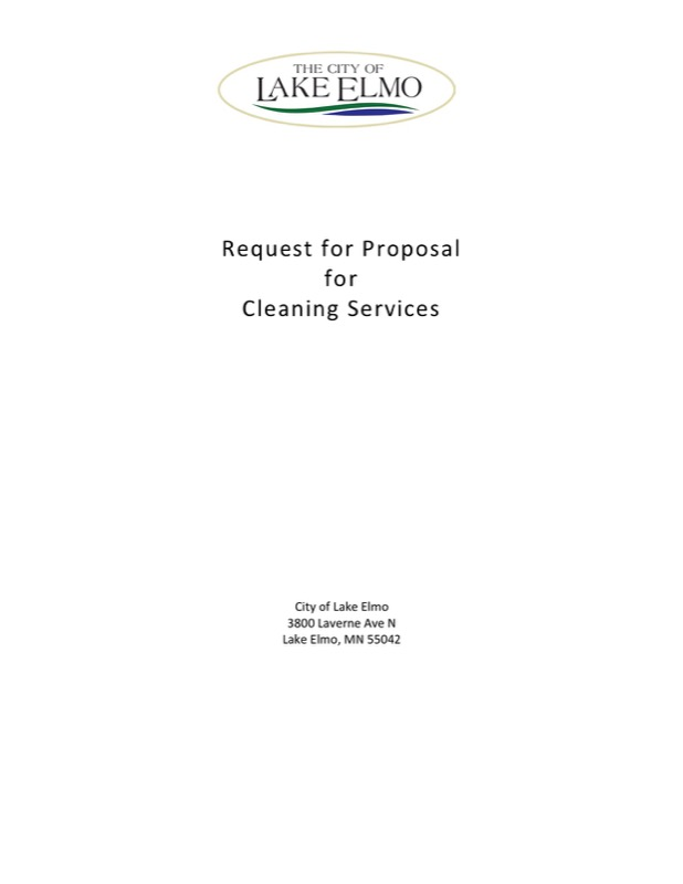Cleaning proposal templates free templates in doc ppt pdf xls cleaning service proposal template thecheapjerseys Choice Image
