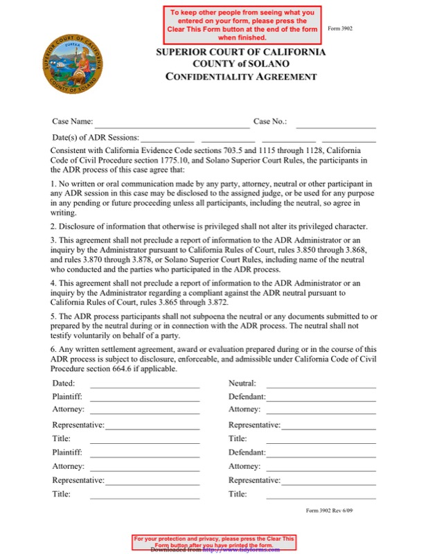 Confidentiality Agreement Template  Free Templates In Doc Ppt Pdf